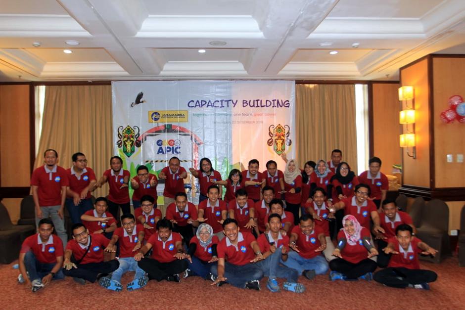 Capacity Building Outbound PT Jasamarga Balikpapan Samarinda